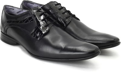 Provogue Lace Up Shoes(Black)