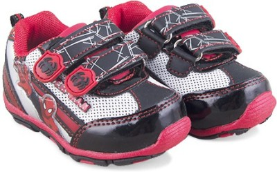 Spiderman Bs1cbsm07,Red/Black Casual Shoes