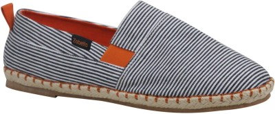 Zobello Pinstripe Spanish Espadrilles Casual Shoes
