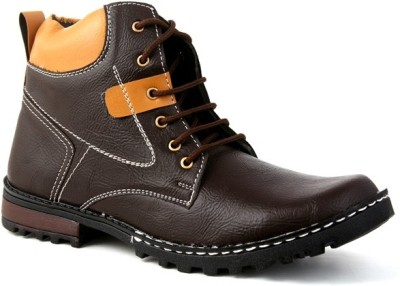 Skylark Synthetic leather Brown Boots
