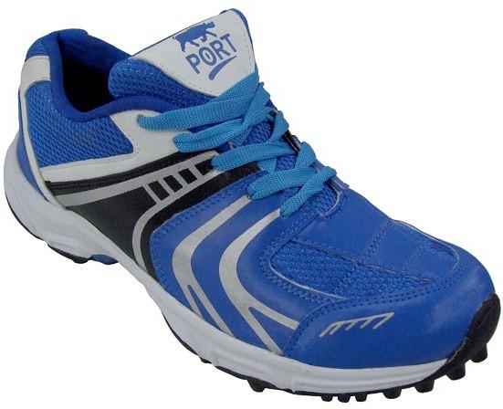 Port Razer Plus Blue Comfort Synthetic Cricket Shoes