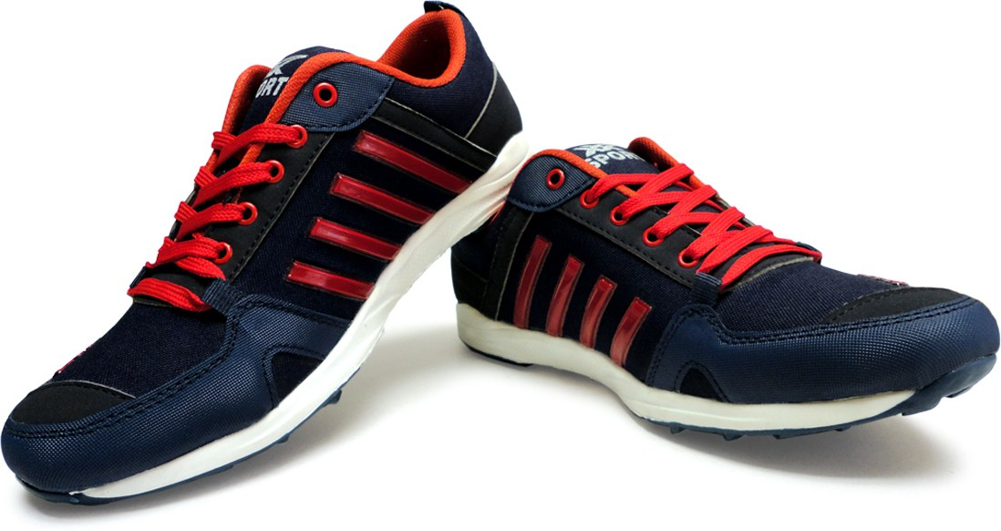 Activa Classic Canvas Shoes(Blue, Red)