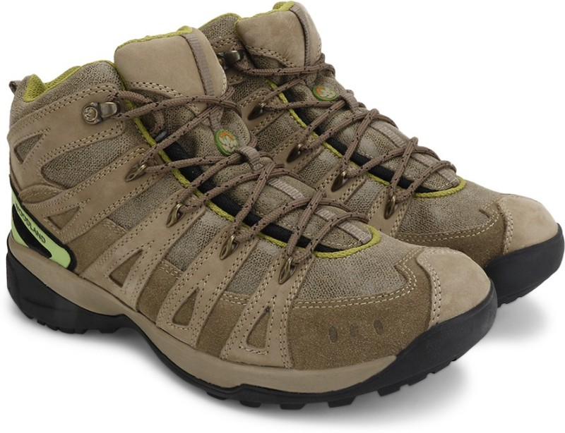 Woodland Men BootsGreen Khaki