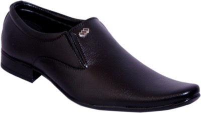 Smoky Black Party Shoe Slip On Shoes