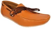 Raja Fashion Synthetic Tan Boat Shoes