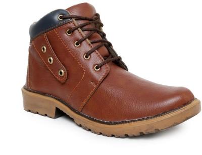 Romanfox 100043-Casual-Maroon Boots