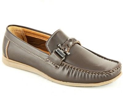 Faces By Devils Boxer Brown Loafers