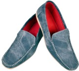 MBS Collection Loafer Shoe Loafers (Blue...