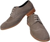Stylords Corporate Casual Shoes (Grey)