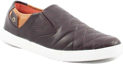 La Shades Checkered Brown Loafers Casuals