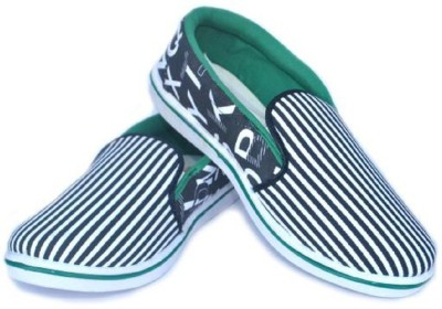 Gmt Black Casual Shoes Canvas Shoes