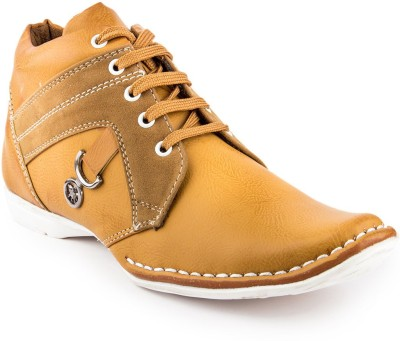 Golden Sparrow Stylish Casual Shoes(Tan)
