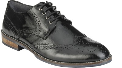 Delize 27073-Black Lace Up Shoes