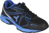Spinn Hertz Running Shoes (Black, Blue)