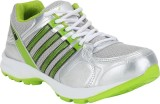 Rod Takes Fire Running Shoes (Silver)