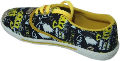 Stepin Soles Street Yellow Casual Shoes