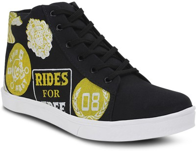 Get Glamr Yellow Men's Casual Shoes