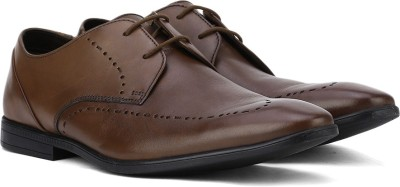 Clarks Lace Up Shoes(Tan)