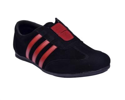 Sir Corbett Running Shoes(Black, Red)