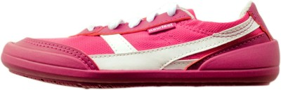Newfeel Pink White Casual Shoes