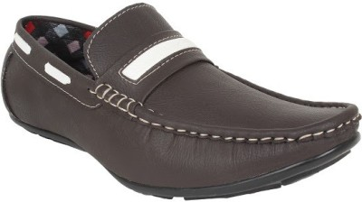 Firemark 202 Brown Loafers