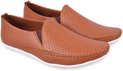 Andrew Scott Tan Loafers(Tan)