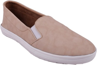 Advin England Cream Slip-on style Shoes Sneakers