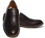 ASM Brogue Party Wear Shoes (Brown)
