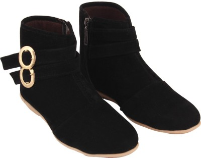 ABJ Fashion Stylish Boots(Black)