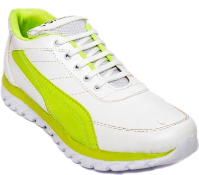 Kamil Green Running Shoes