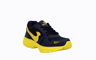 Spot On Sp-E-351-N.Blue Yellow Running Shoes