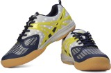 Balls Badminton Shoes (Navy, Yellow)