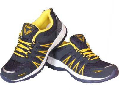 Delux Look Fine Cricket Shoes(Yellow)