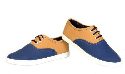 Felando 602-Blue-9 Canvas Shoes