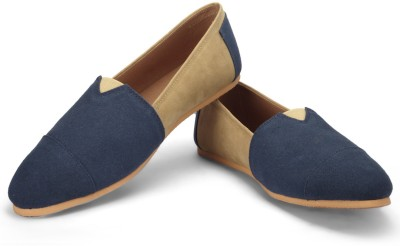 FUNK Houg Navy Blue with Light Beige Casuals