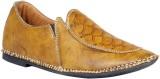 JK Port Blue Faux Leather Ethnic Shoe (B...