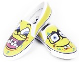 F-Gali The Spongebob Slip-on Shoes Canva...