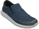 Crocs Kinsale Static Boat Shoes (Blue)
