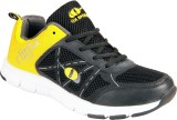 OX Sports Running Shoes (Black, Yellow)
