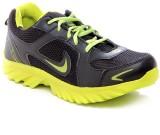 Micato Bike Running Shoes (Black, Green)