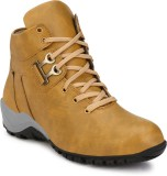 Wave Walk Latest Fashion Boots (Beige)