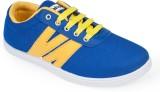 Rajdoot Canvas Shoes (Blue, Yellow)