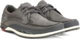 Clarks Orson Lace Dark Grey Lea Sneakers...