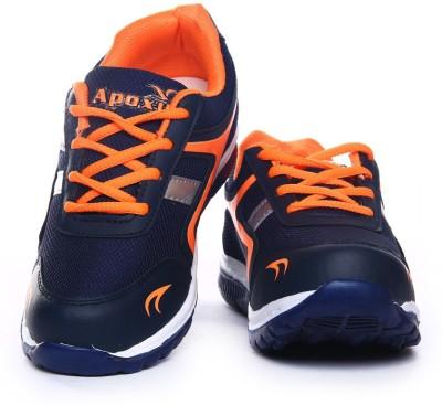 Apoxy APX-RUNNER-2-KIDS-NAVY-ORANGE Running Shoes