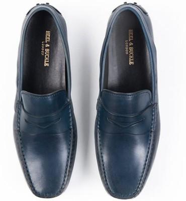 Heel & Buckle Heel & Buckle Blue Loafers Loafers