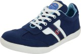 Chamois Sneakers (Blue)