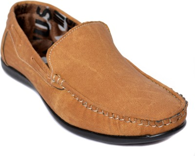 Kamil Beige Loafers