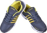 Fittos Running Shoes (Yellow, Grey)