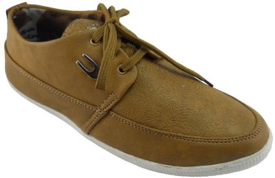 B3trendz Low Ankle Tan Casual Shoes