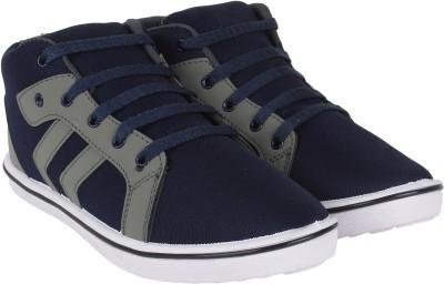 Vivaan Footwear Grey-114 Casual Shoes